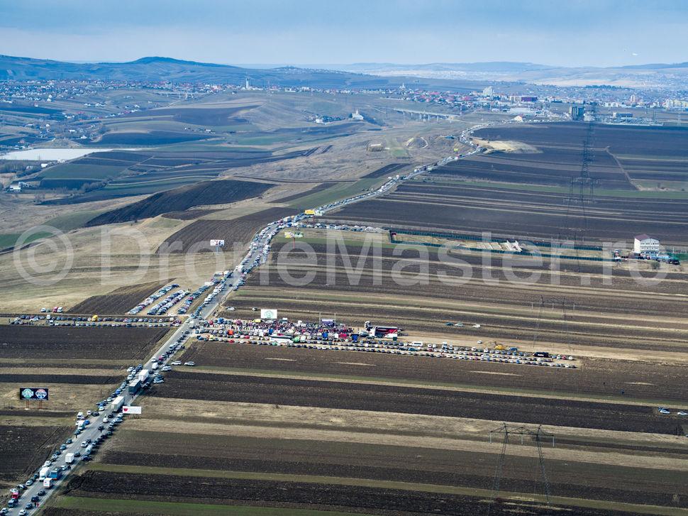 Inaugurarea autostrazii de un metru, foto 1