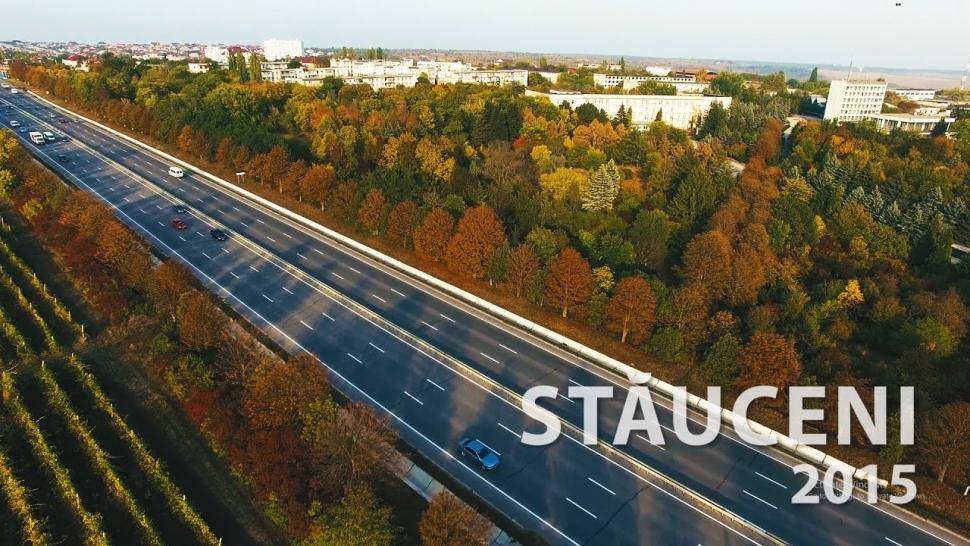 Embedded thumbnail for Stauceni, Chisinau - filmare aeriana