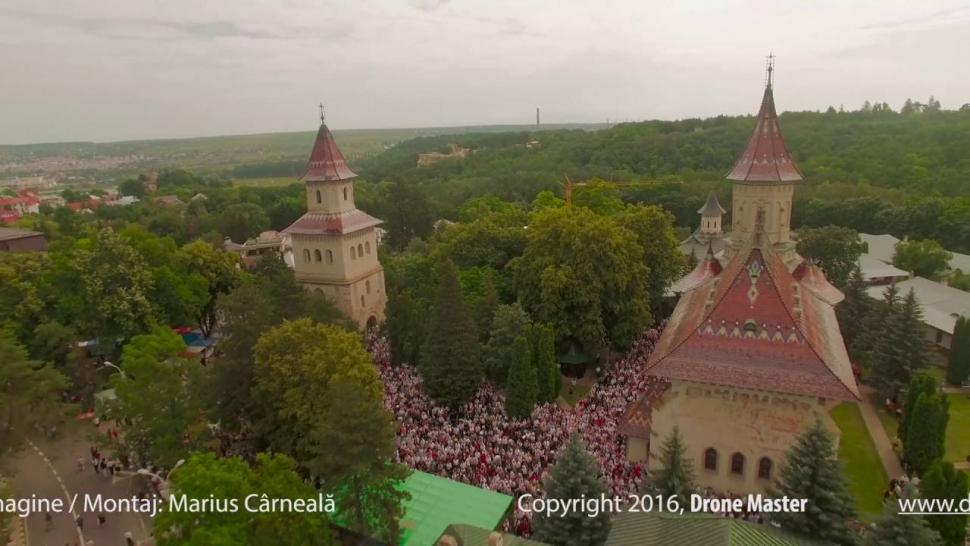 Embedded thumbnail for Filmare aeriana de la hramul Sucevei, iunie 2016