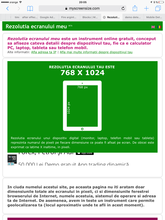 Rezolutie ecran tableta