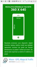 Rezolutie ecran telefon mobil