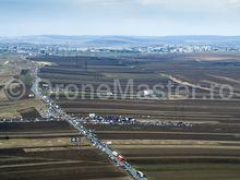 Inaugurarea autostrazii de un metru, foto 2